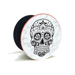 027 - Pop Holder Skull Grip Celular + Soporte