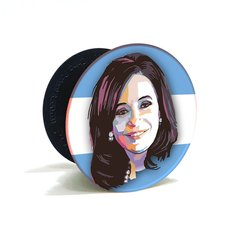 Pop Holder Cristina Kirchner CFK Grip Celular + Soporte