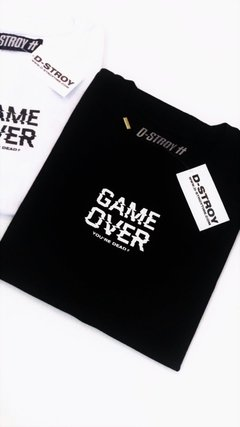 REMERA GAME OVER en internet