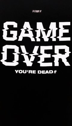 REMERA GAME OVER - Dstroy