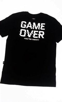 REMERA GAME OVER - comprar online