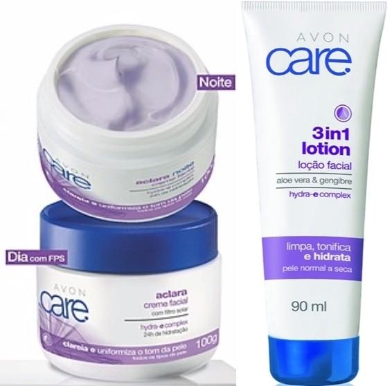 Avon Care Aclara Creme Facial Hidratante Clareador 100g 51010 8