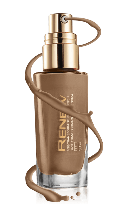 Avon Renew Base Transformadora Intensiva FPS15 Bronze Natural 30ml 51085-0