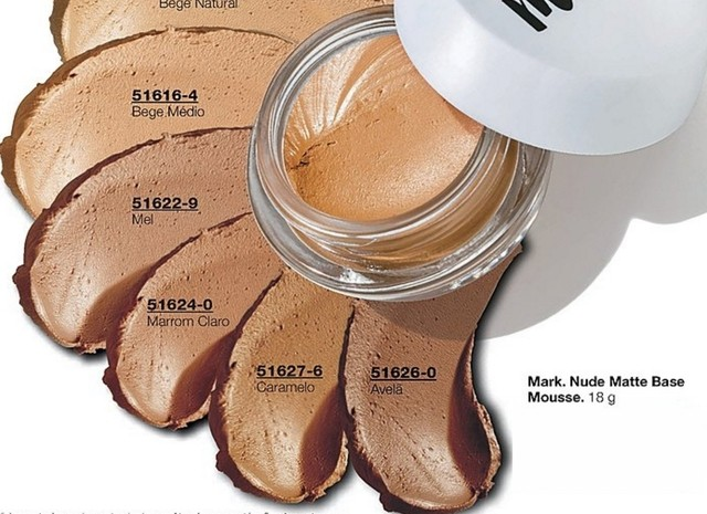 Nude Matte Base Mousse Avon Mark. 18g na internet