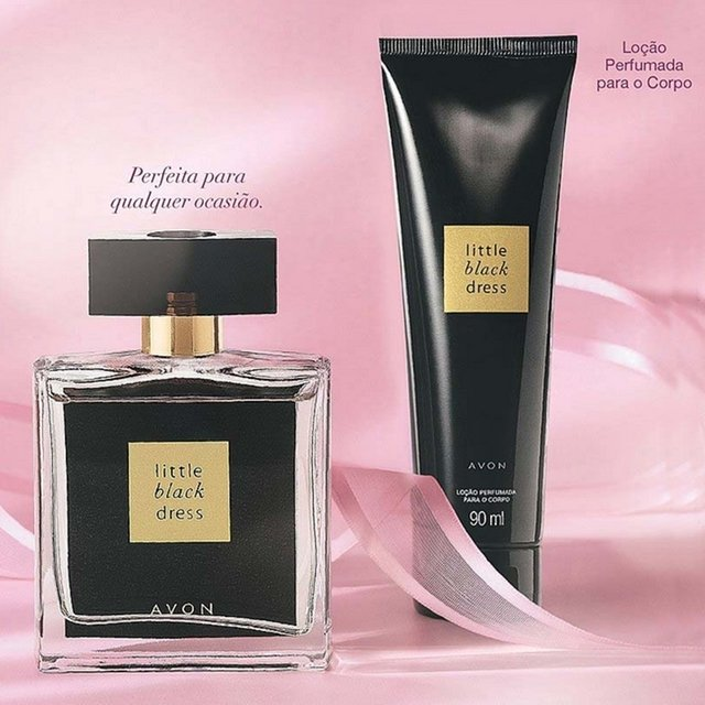 Avon Presente Avon Little Black Dress Kit - Avon Perfume Little Black Dress