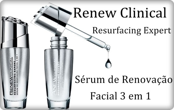 Renew Clinical Resurfacing Expert Sérum de Renovação Facial 3 em 1 30ml 51304-5