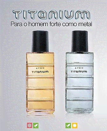 Avon Titanium Dynamic Colônia Desodorante Spray 100 ml 50043-5