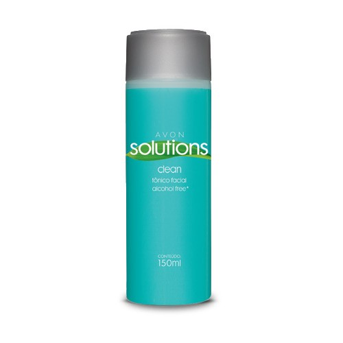 Avon Solutions Clean Tônico Facial Alcohol Free* 150 ml