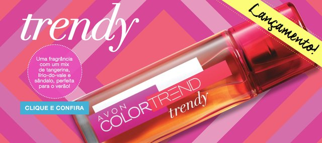Avon Color Trend Trendy Desodorante Colônia 50ml 50133-6