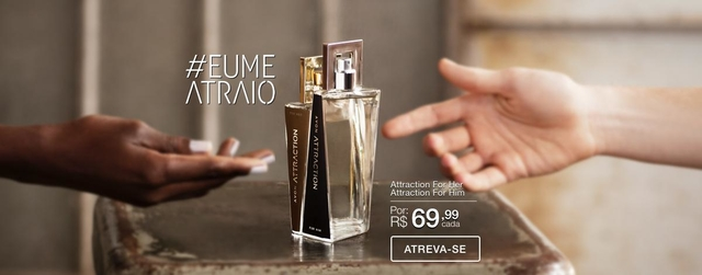 Attraction Deo Parfum Her Feminino 50ml - comprar online