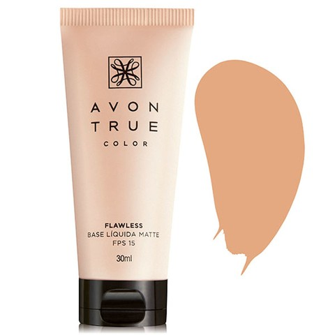 Base Líquida Avon Matte FPS 15 True Color 30ml