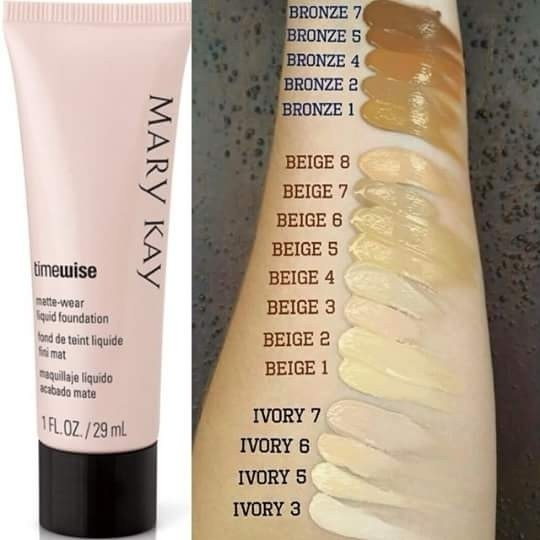 Base Líquida Acabamento Luminoso Timewise® 29ml Mary Kay na internet
