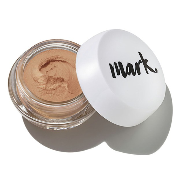 Nude Matte Base Mousse Avon Mark. 18g marrom claro