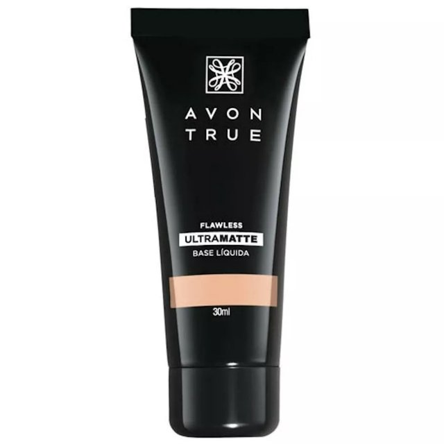 Base Líquida Avon Ultra Matte FPS 15 True Color 30ml