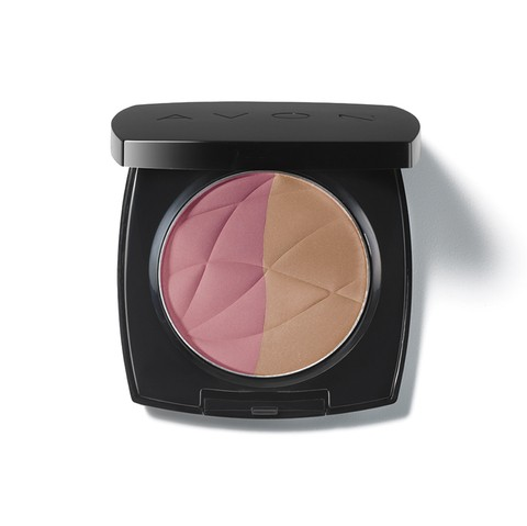 Avon Maquiagem Ideal Luminous duo Blush 11g 50125-0