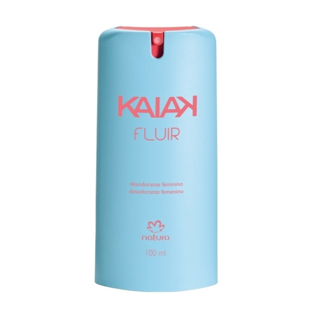 Kaiak Fluir Natura Desodorante Spray Feminino 100ml