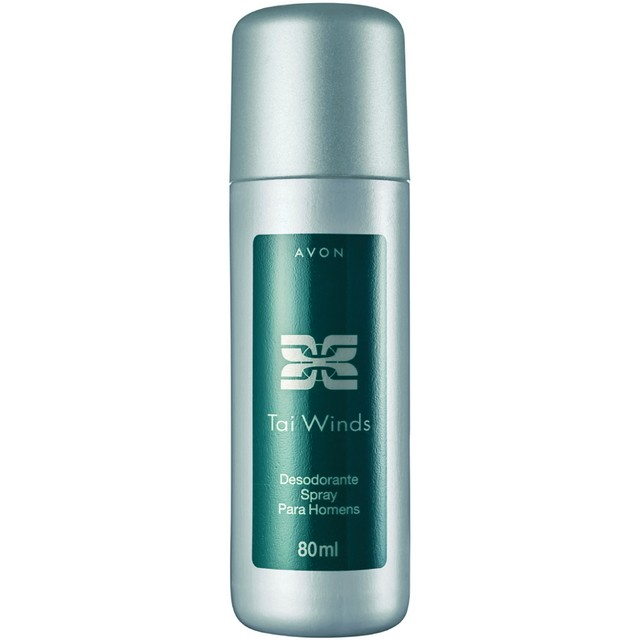 Avon Desodorante Spray Masculino Musk Fresh, Musk Marine, Tai Winds e Wild Country 80 ml