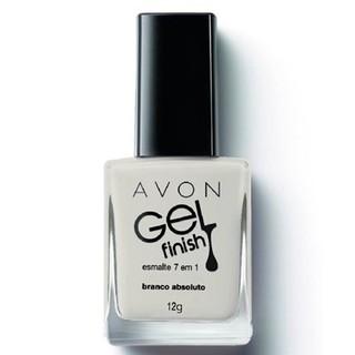Avon Gel Finish Esmalte 7 em 1 Branco Ab...