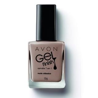Avon Gel Finish Esmalte 7 em 1 Nude Clás...