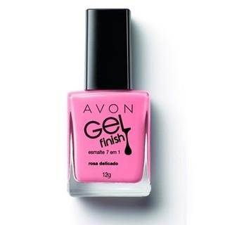 Avon Gel Finish Esmalte 7 em 1 Rosa Deli...