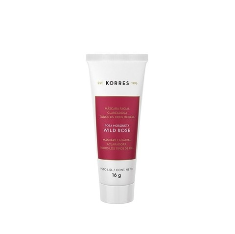 Korres Wild Rose Máscara Facial Clareadora 16g