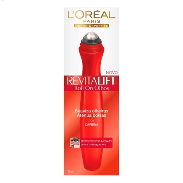 L'Oréal Paris Revitalift Anti-Olheiras Revitalift Roll-On Olhos 15 ml