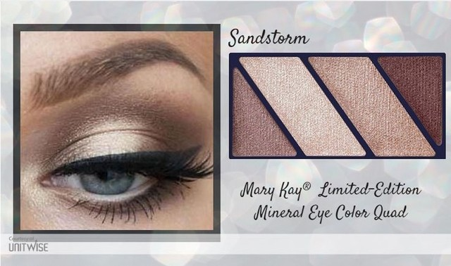 Mary Kay® Quarteto de Sombras Mineral Eye Color Quad in Sandstorm 1,5g