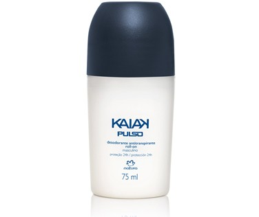 Natura Kaiak Pulso Desodorante Antitranspirante Roll-on Masculino 75ml 35674