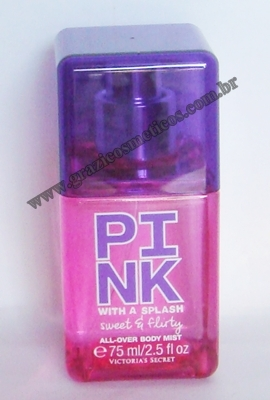 Victoria's Secret Pink With a Splash All-over Body Mist in Sweet e Flirty 75ml