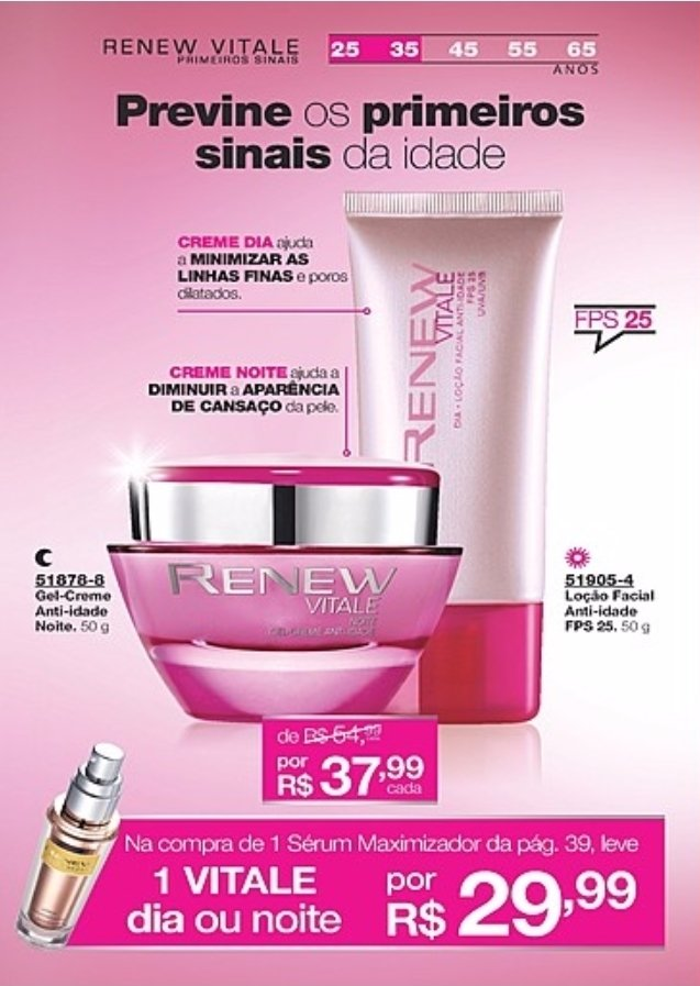 Imagem do Avon Renew Serum Maximizador Smart Repair  30ml