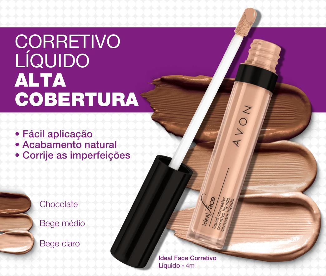 Avon Corretivo líquido ideal face