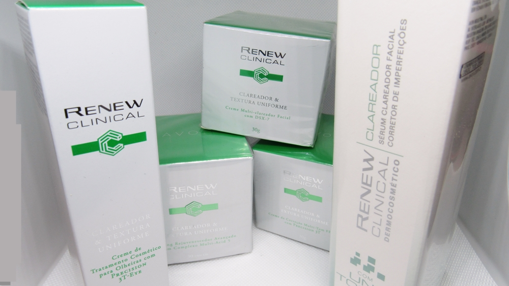 avon renew clareador kit completo