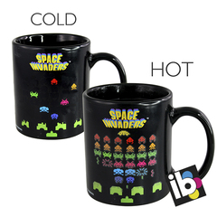Taza Mágica Diseño Space Invaders
