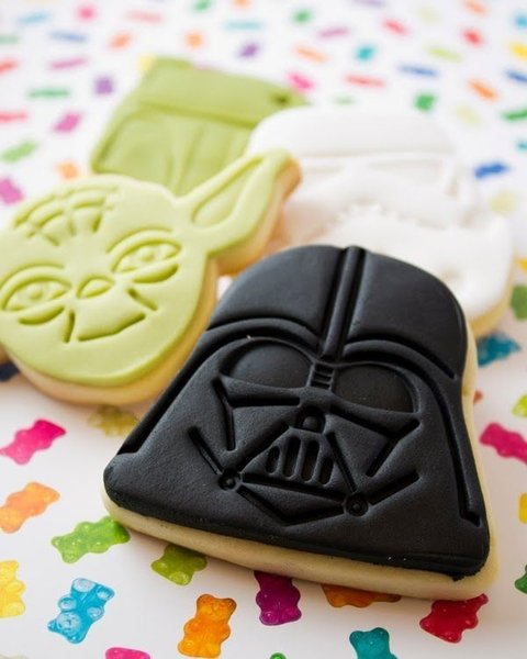 Molde para Galletitas x 4 Star Wars