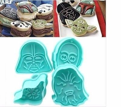 Molde para Galletitas x 4 Star Wars - In Bloom