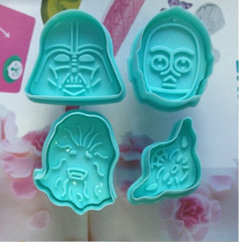 Molde para Galletitas x 4 Star Wars en internet