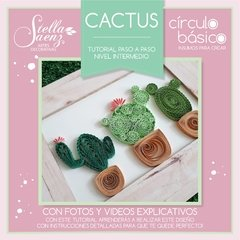 Tutorial quilling - CACTUS - Nivel Intermedio