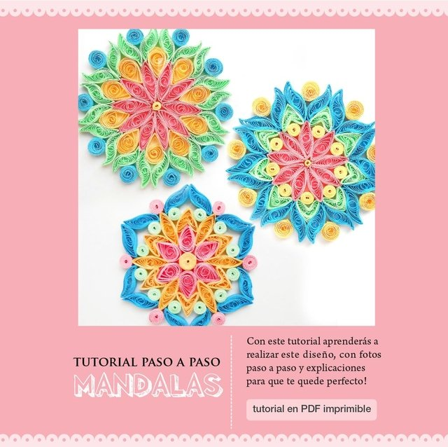 Tutorial MANDALAS -  Promo x 3 tutoriales