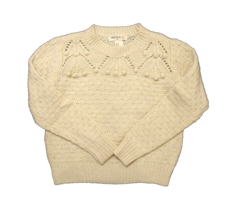 Sweater calado Forever 21 T.5/6 años