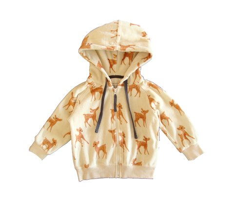 Campera de plush Little Akiabara T.12 meses