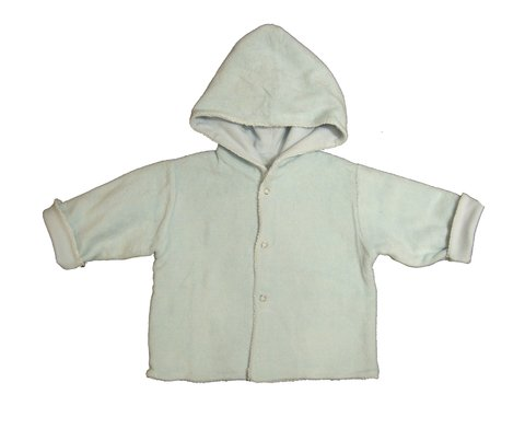 Campera de plush forrada en algodon Junior 6 meses