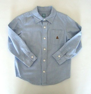 Camisa tela oxford Gap T.5 años