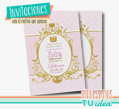 Baby Shower Nena Invitación Baby Shower Nena Para Imprimir