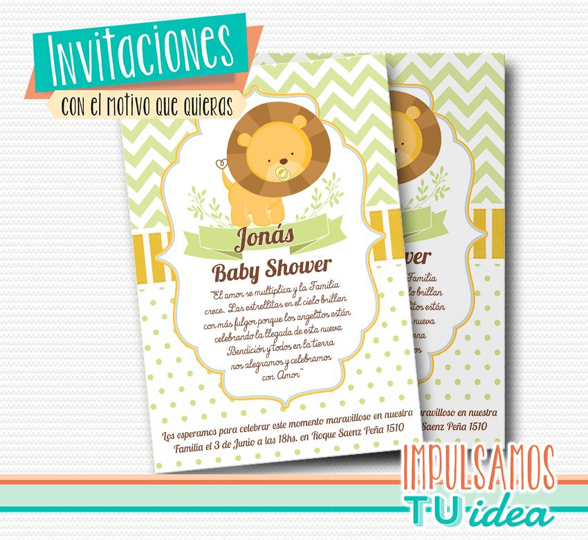 Invitación Baby Shower Baby Shower Tarjetita Imprimible