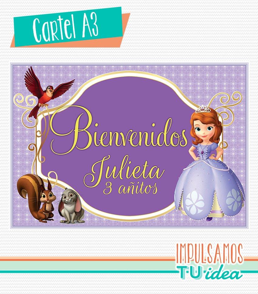 Princesita Sofía Envoltorio Turrón Para Imprimir