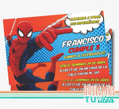 spiderman hombre araa