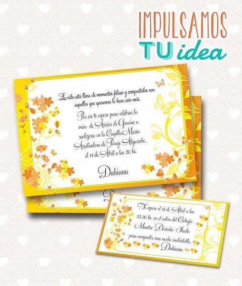 Tarjeta De 15 Para Imprimir Invitación Y Personal Dahiana