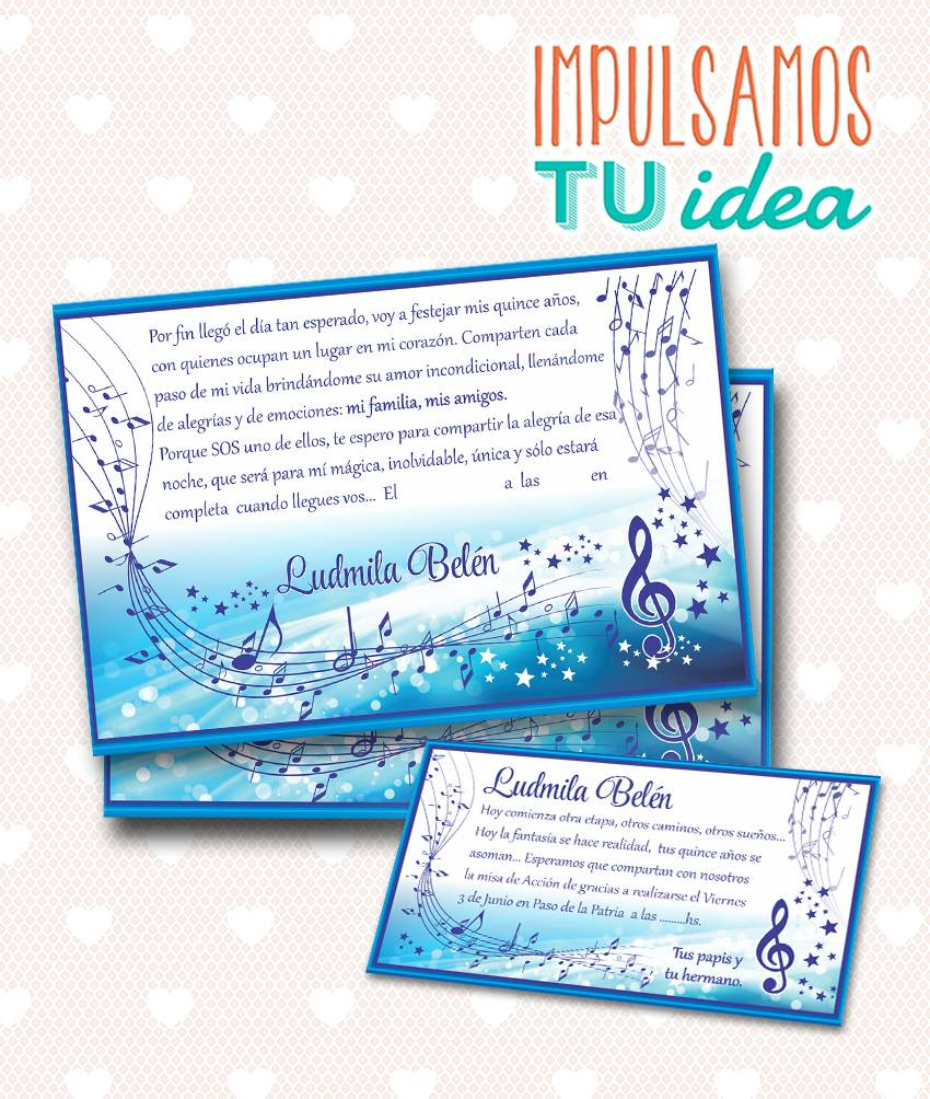 Tarjeta De Quince Invitación De 15 Para Imprimir