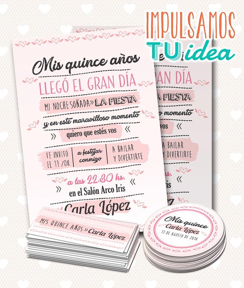 Diseño De Invitación Cumple De 15 Para Imprimir