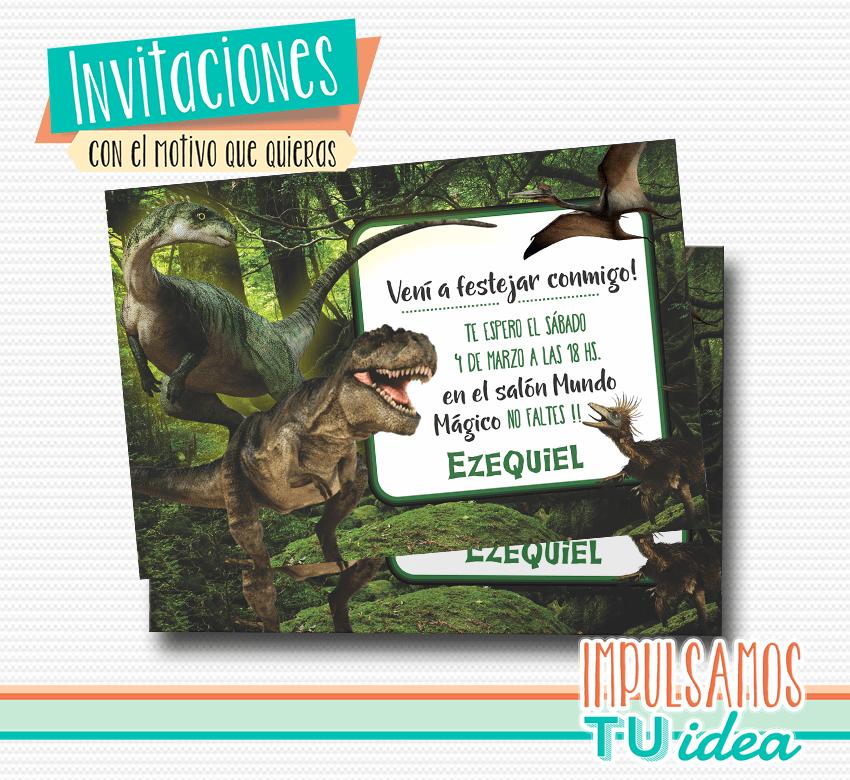 Cumple Dinosaurios Tarjeta Dinosaurios Imprimible